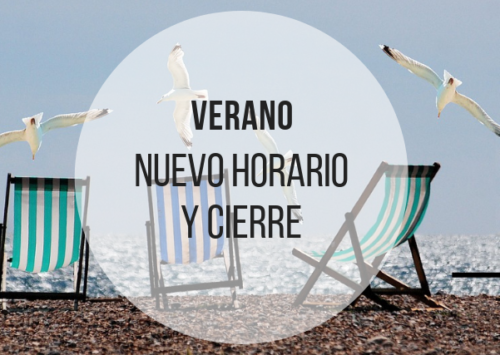 HORARIO DE VERANO Y VACACIONES